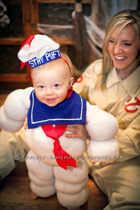 Cute Stay Puft Marshmallow Baby
