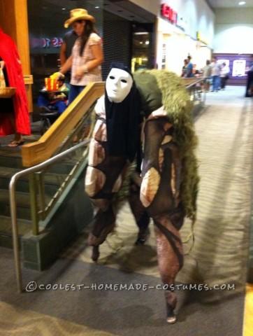Creepy Stilt Monster Costume