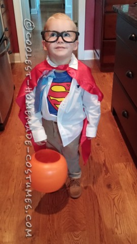 Super Cute Clark Kent Halloween Costume