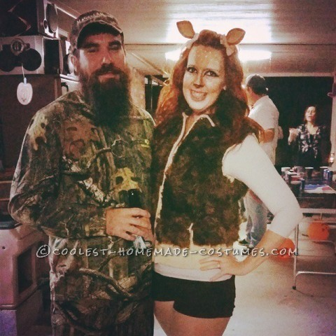 Super Cute Doe and Duck Dynasty Couple Costume