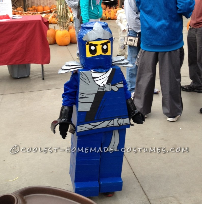 Super Easy Lego Ninjago Jay Costume