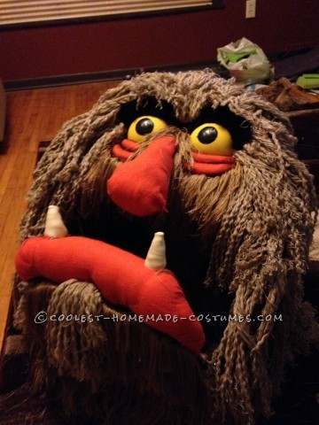 Cool Homemade Sweetums the Muppet Costume