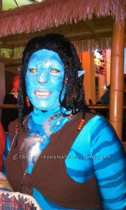 DIY Neytiri Avatar Costume - 1