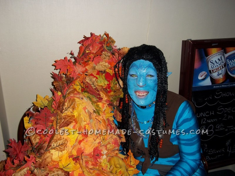 DIY Neytiri Avatar Costume - 2