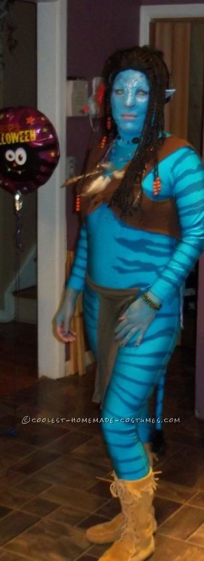DIY Neytiri Avatar Costume - 3