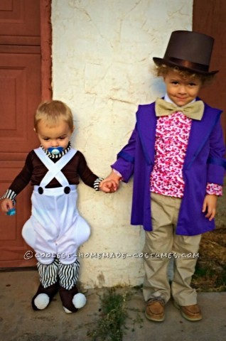 The Best Willy Wonka Costume from Scratch