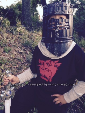Cool Homemade Costume for a Boy: Monty Python's Black Knight