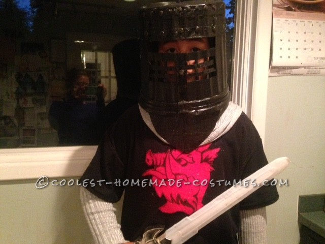 Cool Homemade Costume for a Boy: Monty Python's Black Knight - 1
