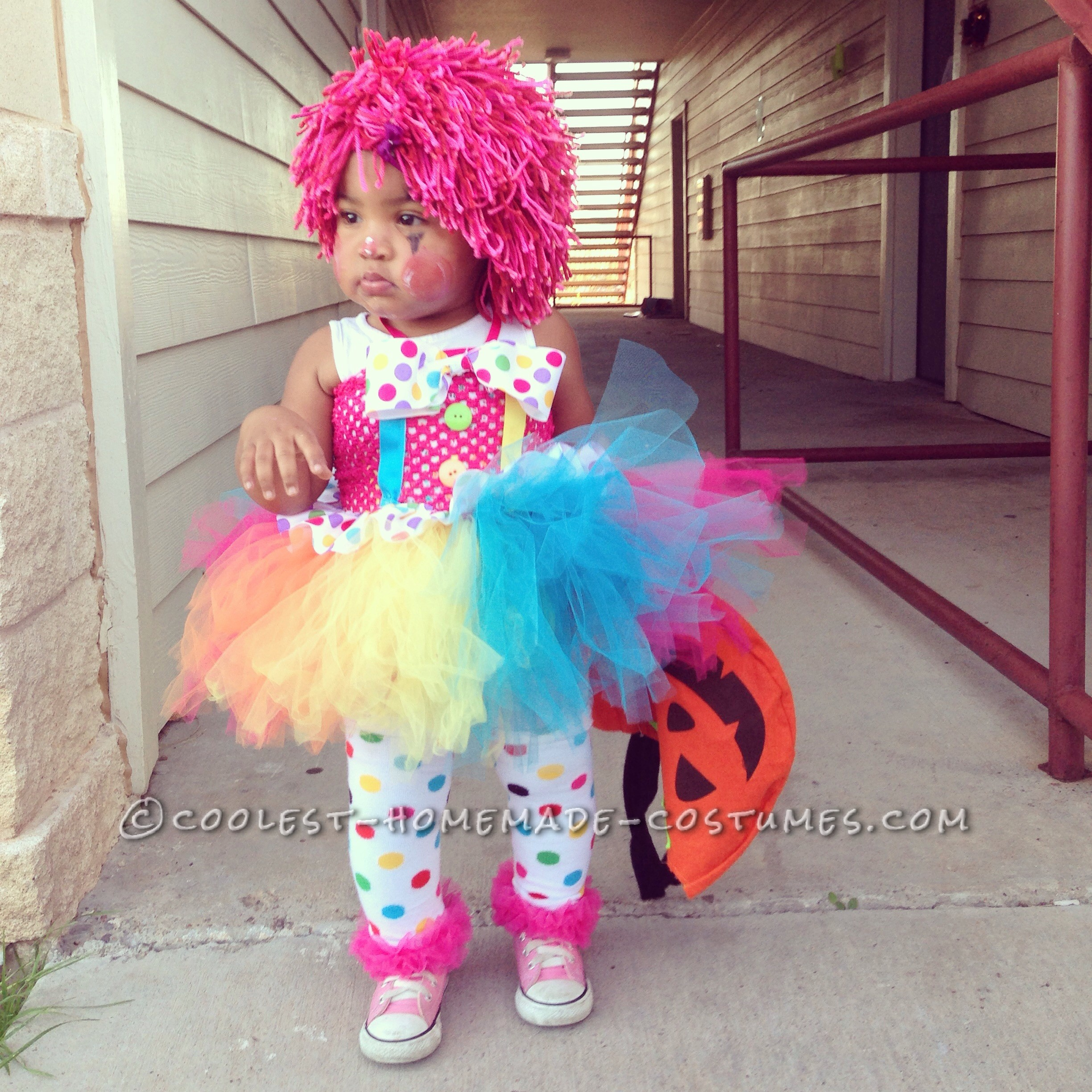 The Cutest Baby Clown Costume