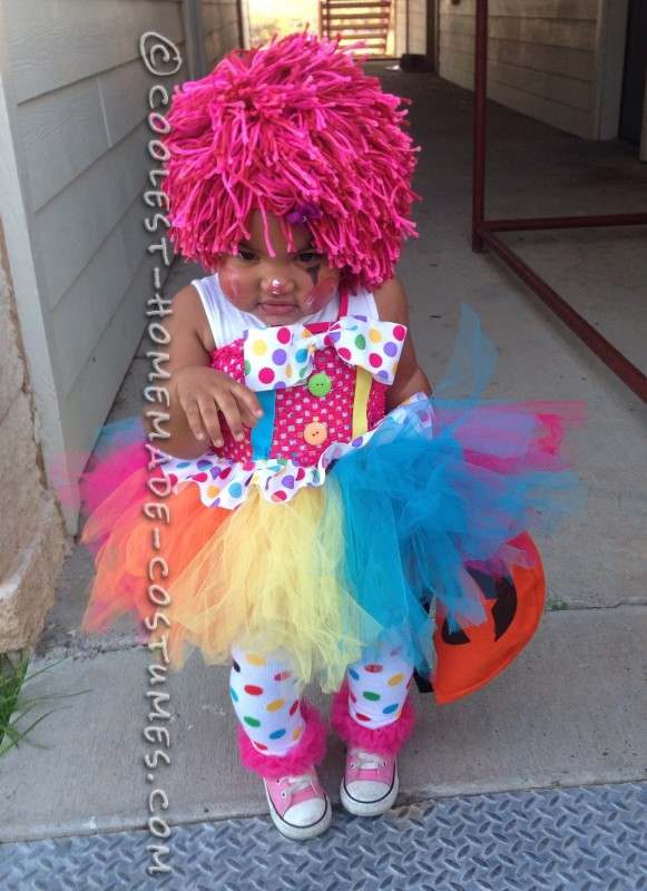 The Cutest Baby Clown Costume - 1