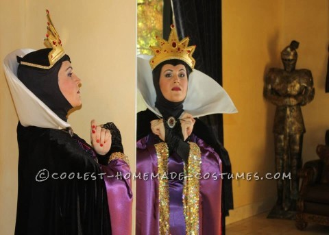 Cool DIY Disney Costume: The Evil Queen