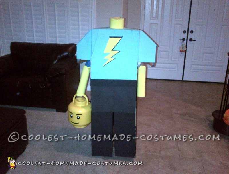 Not Just a Minifig – A Headless Lego Guy!