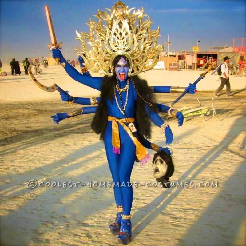 Hindu Goddess Kali and God Shiva Costumes