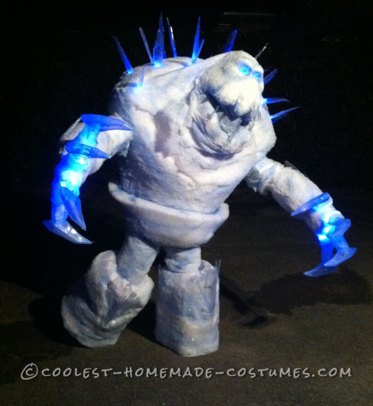 Coolest Marshmallow Snow Monster Costume - 2
