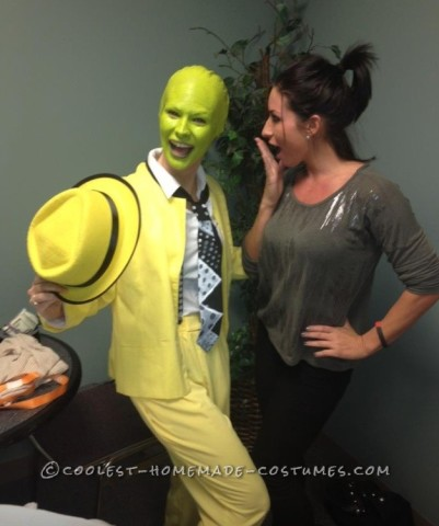 The Mask Costume - Super Easy!