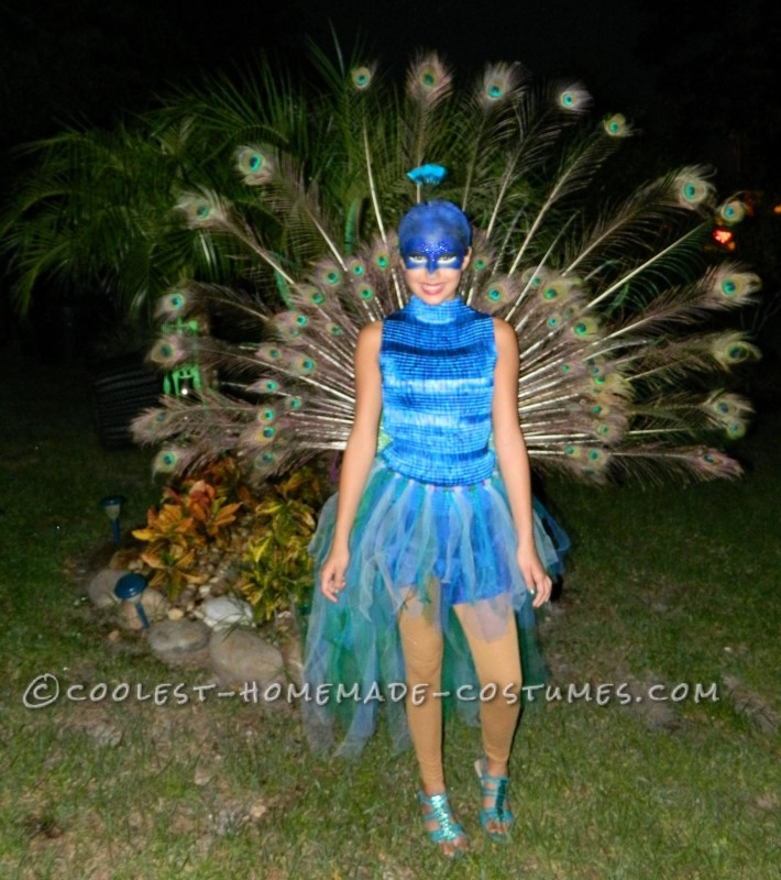 The Most Beautiful Peacock Costume - 8