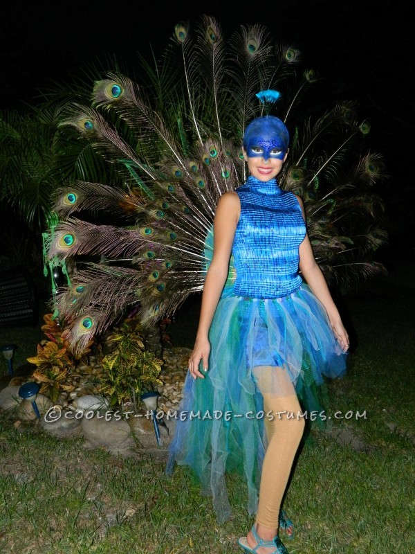 The Most Beautiful Peacock Costume - 1