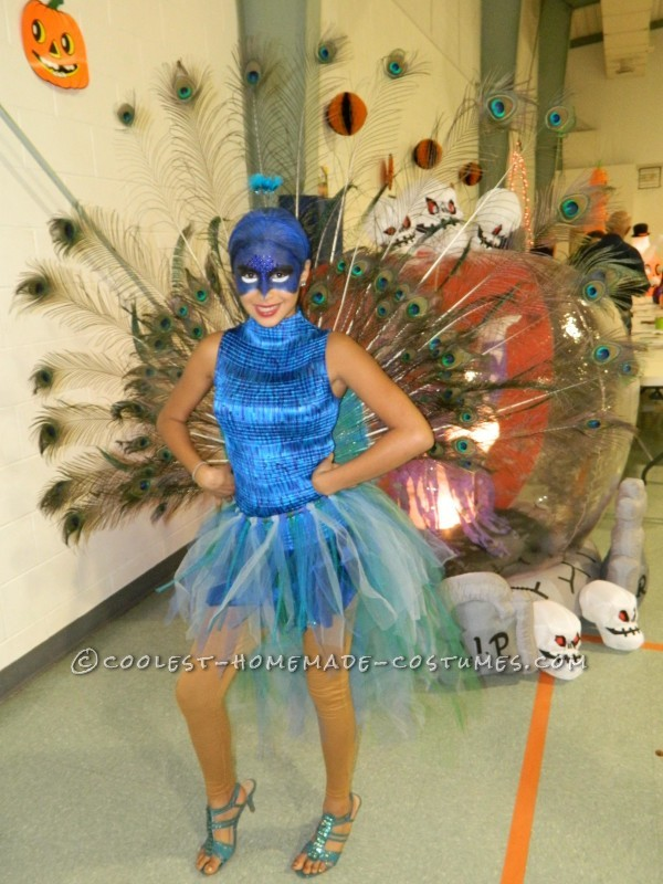 The Most Beautiful Peacock Costume - 9