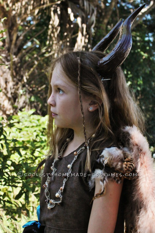 Original Costume for a Girl: The Other Maleficent