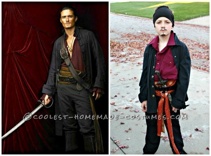 Cool Pirates of the Caribbean Costumes for a Family - 1