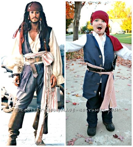 Cool Pirates of the Caribbean Costumes for a Family