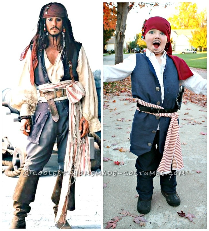 Cool Pirates of the Caribbean Costumes for a Family - 3