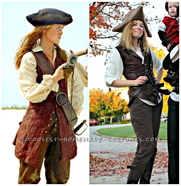 Cool Pirates of the Caribbean Costumes for a Family - 4