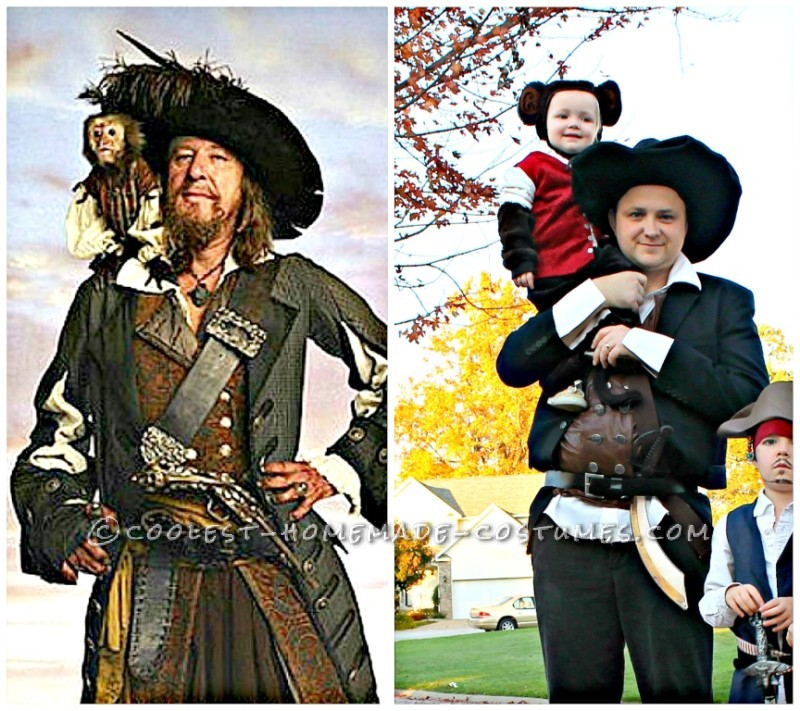 Cool Pirates of the Caribbean Costumes for a Family - 5