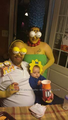 Coolest Simpsons Family Costume