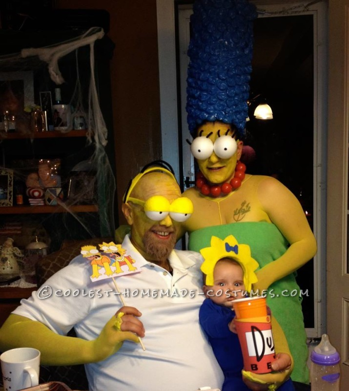 Coolest Simpsons Family Costume - 2