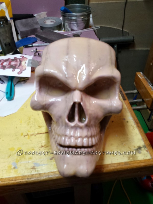 Carving the Skull