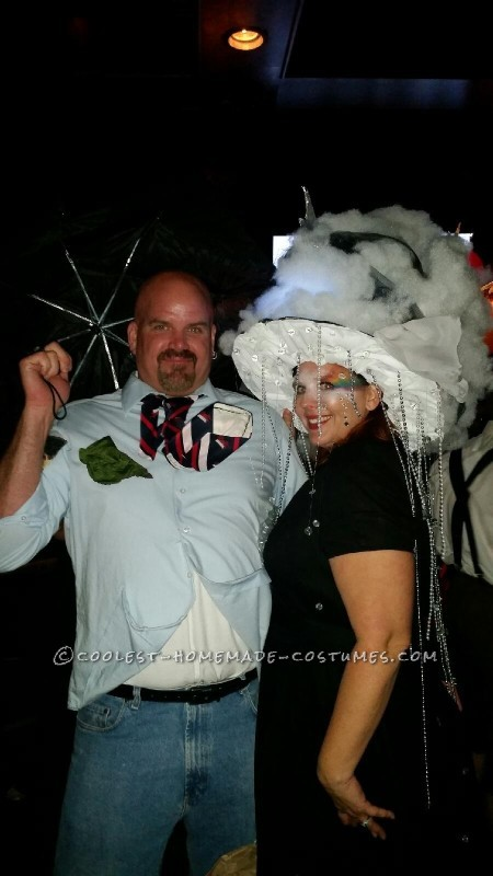 Cool Wind and Rain Couple Costume