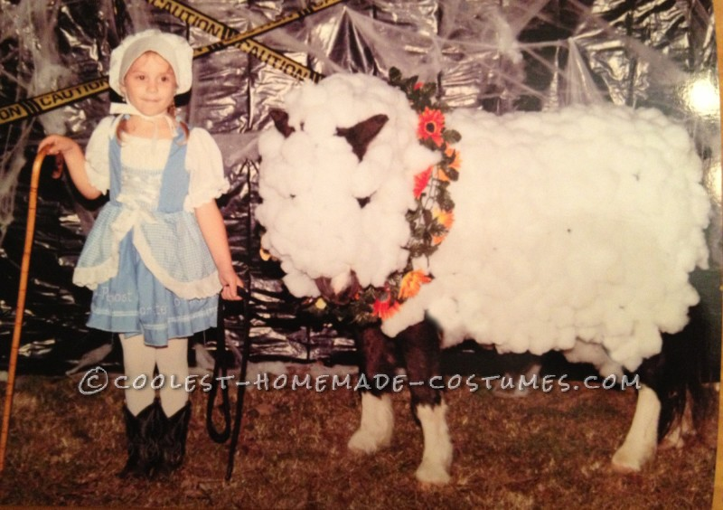 Little Bo Peep and Her Horsey Sheep Costumes - 2