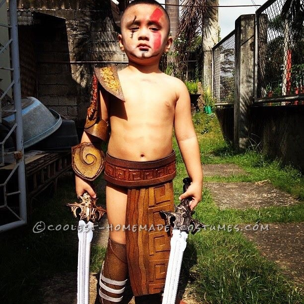 Spartan Warrior Costume for a Boy