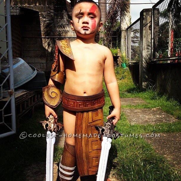 Spartan Warrior Costume for a Boy
