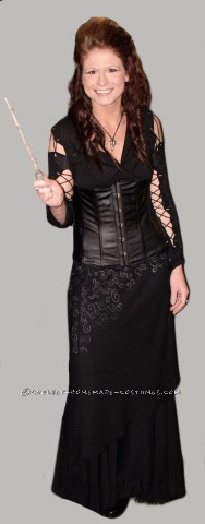 Thrifted Bellatrix Lastrange Costume