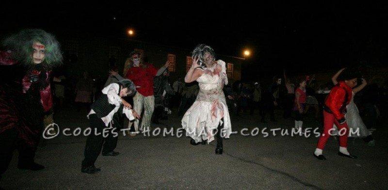 Doing Thriller dance