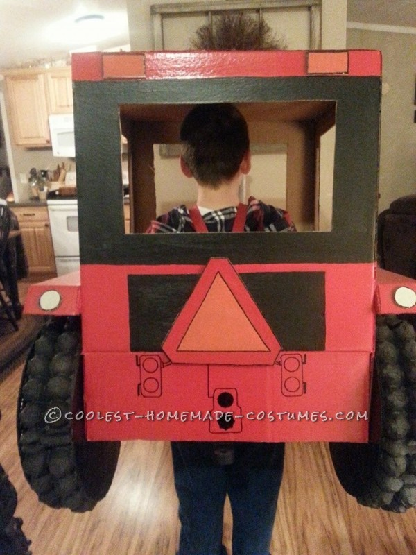 Cool Tractor Costume for 9 year old Boy - 2