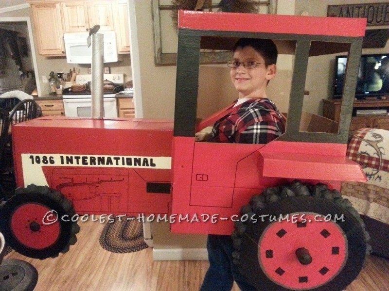 Cool Tractor Costume for 9 year old Boy - 1