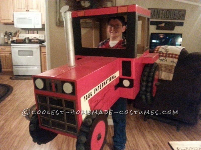 Cool Tractor Costume for 9 year old Boy