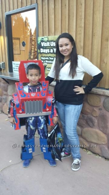 Cool Transforming Transformer Costume