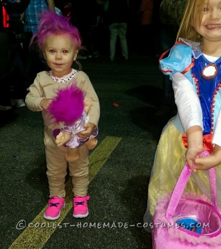 Treasure Troll Baby Costume