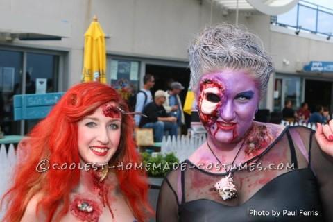 Elaborate Zombie Ursula Costume