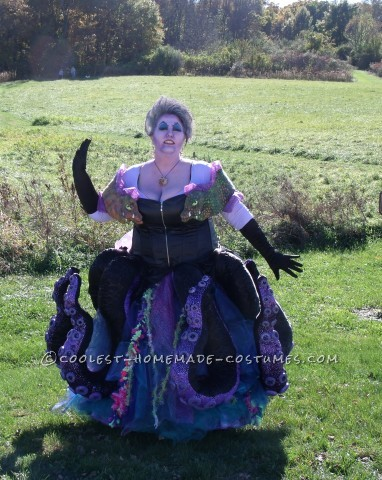 Handmade Ursula The Sea Witch Costume