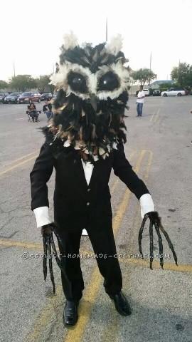 Creepy Owl Man Urban Legend Costume