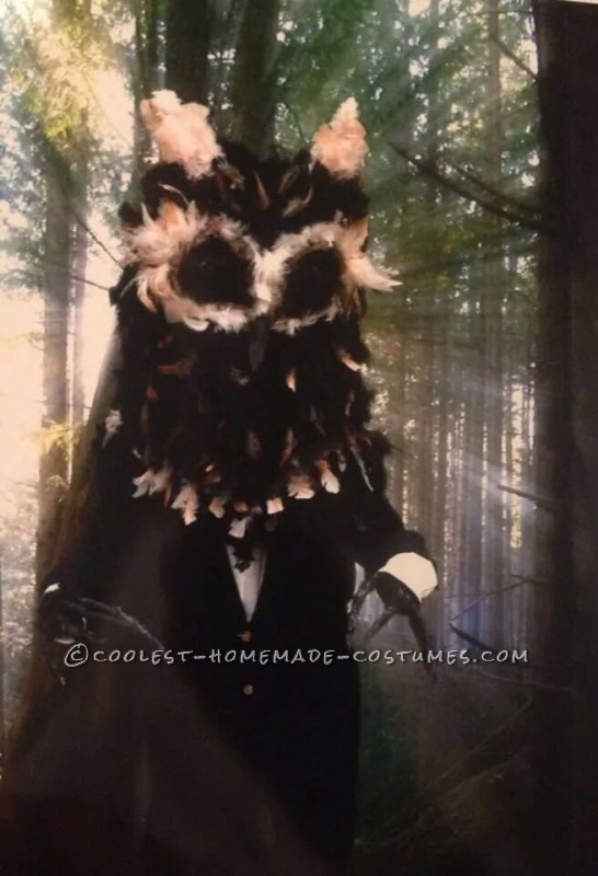 Creepy Owl Man Urban Legend Costume