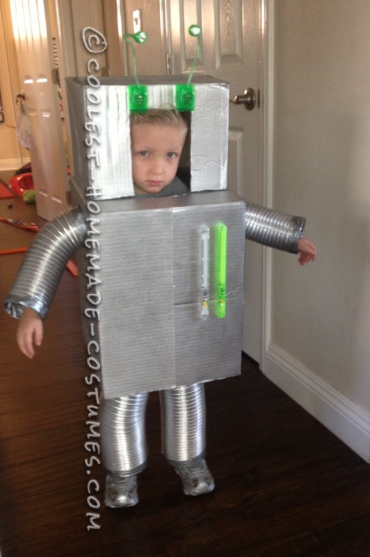 Vincent the Robot Toddler Halloween Costume - 2