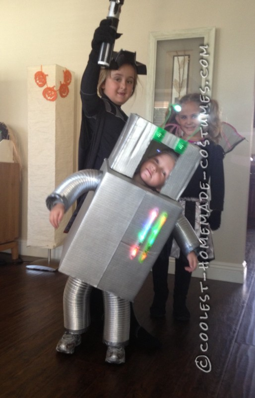Vincent the Robot Toddler Halloween Costume - 1