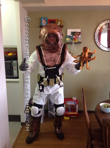 Vintage Deep Sea Diver Costume