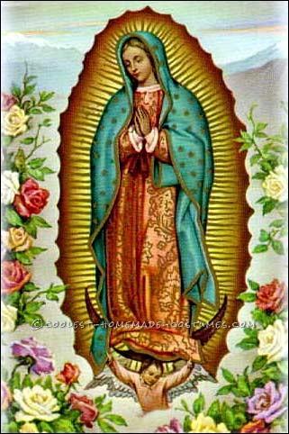 Radiating Virgin of Guadalupe Costume